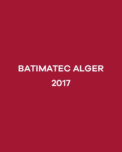 BATIMATEC ALGER 2017