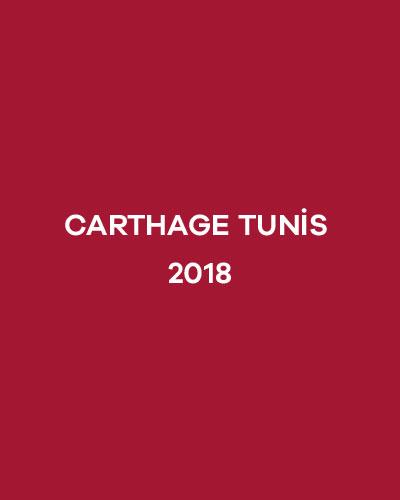 CARTHAGE TUNİS 2018