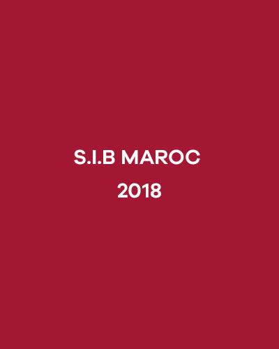 S.I.B MAROC 2018