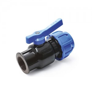 Plastic Ball Coupling Valve (Coupling-Female)